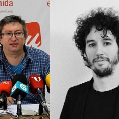 Xabier Ron e Jorge Linheira