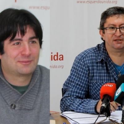 Xabier Ron e José Javier Cuenca