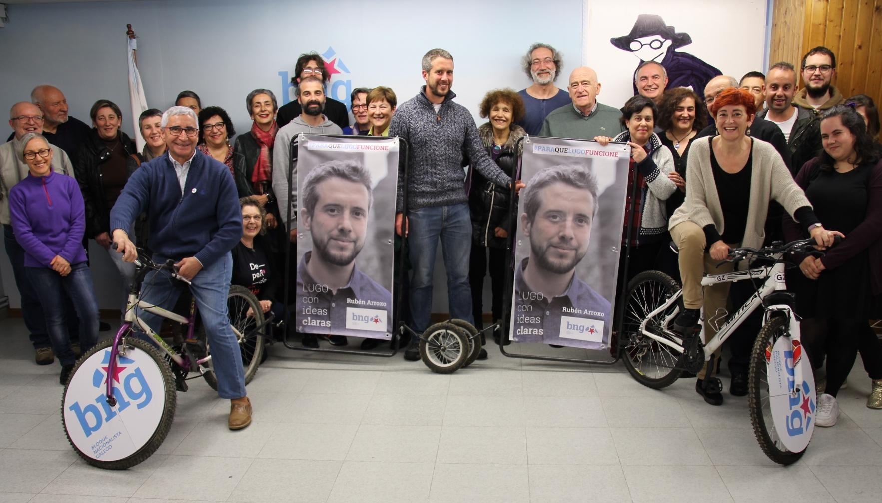 26M - Apertura da campaña do BNG en Lugo