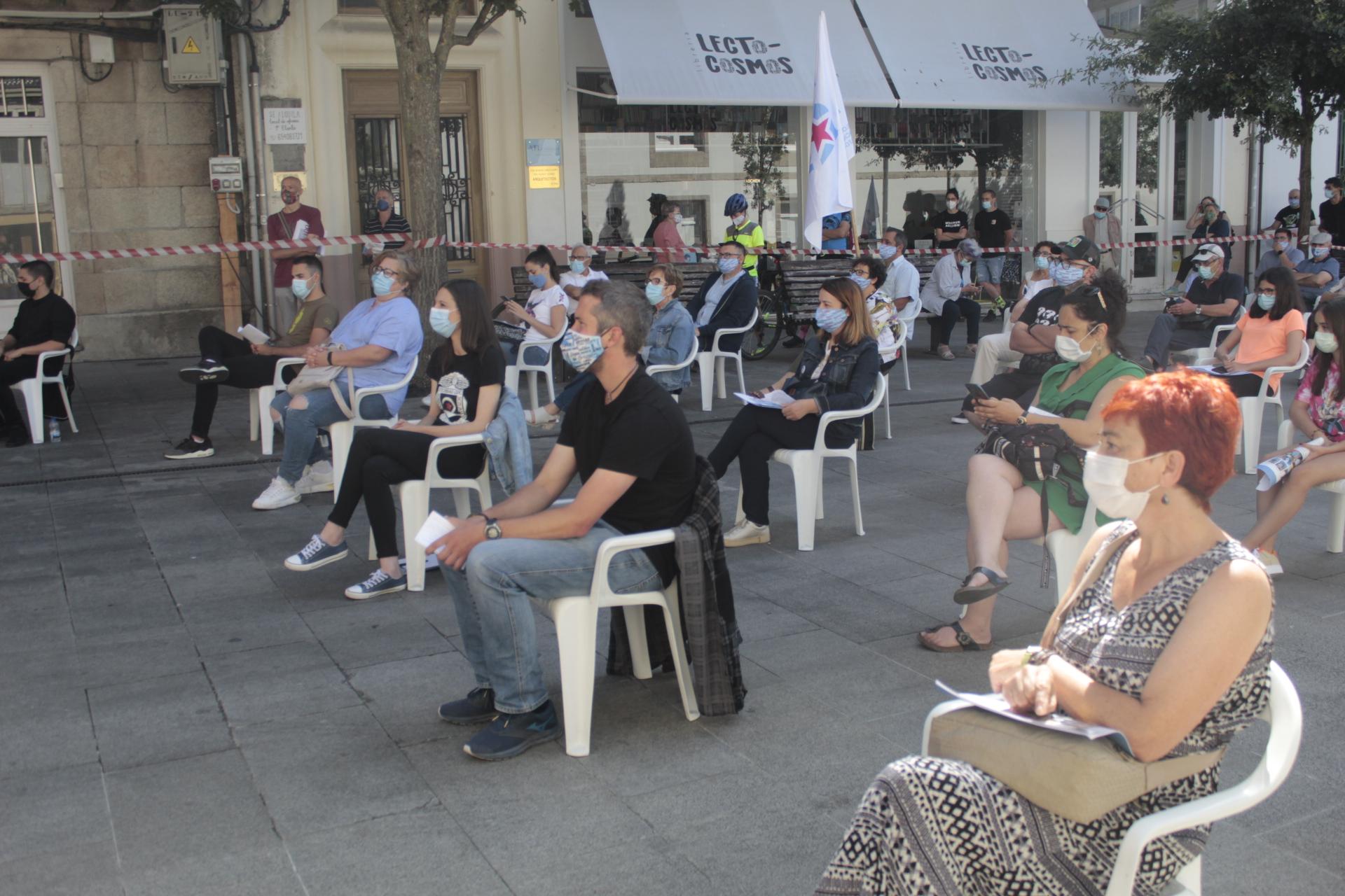 Acto do BNG en Lugo