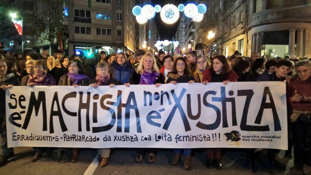 Mobilización contra a violencia machista en Vigo neste 2019   Galiza Contrainfo