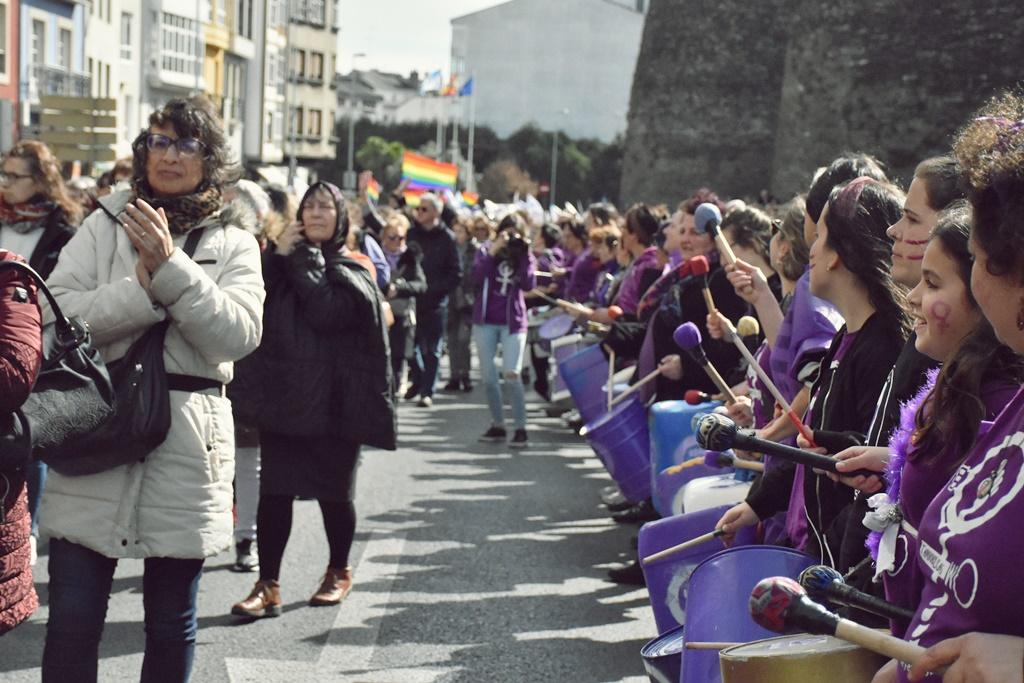Manifestación do feminismo galego Lugo - 3M. Galiza Contrainfo