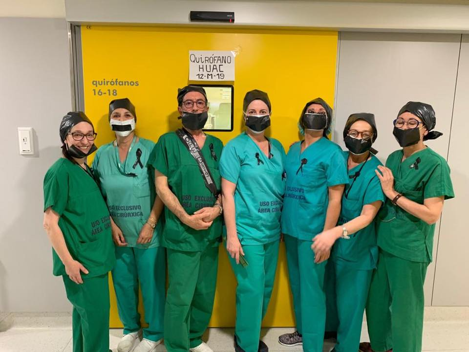 Apoio ás enfermeiras eventuais dende o CHUAC da Coruña
