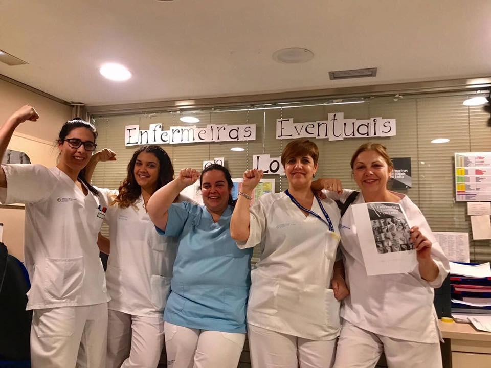 Apoio ás enfermeiras eventuais dende o Hospital da Costa en Burela