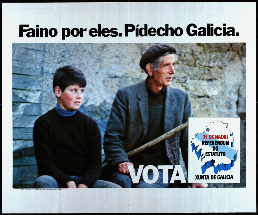 Cartel do referendo autonómico de 1980