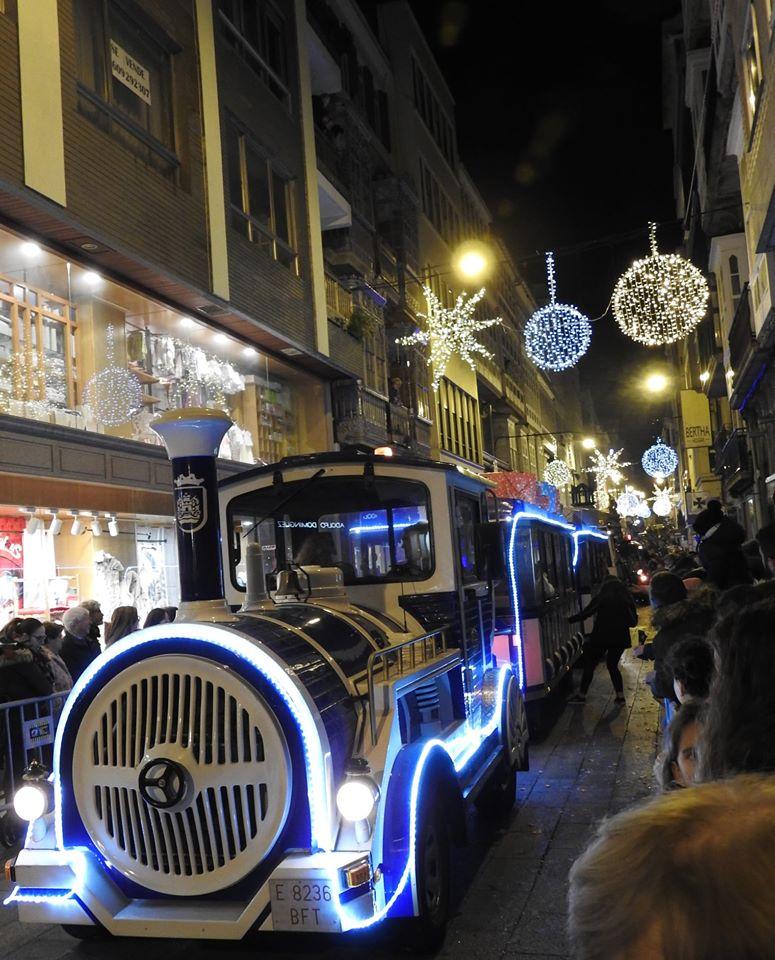Os Reis Magos en Ferrol