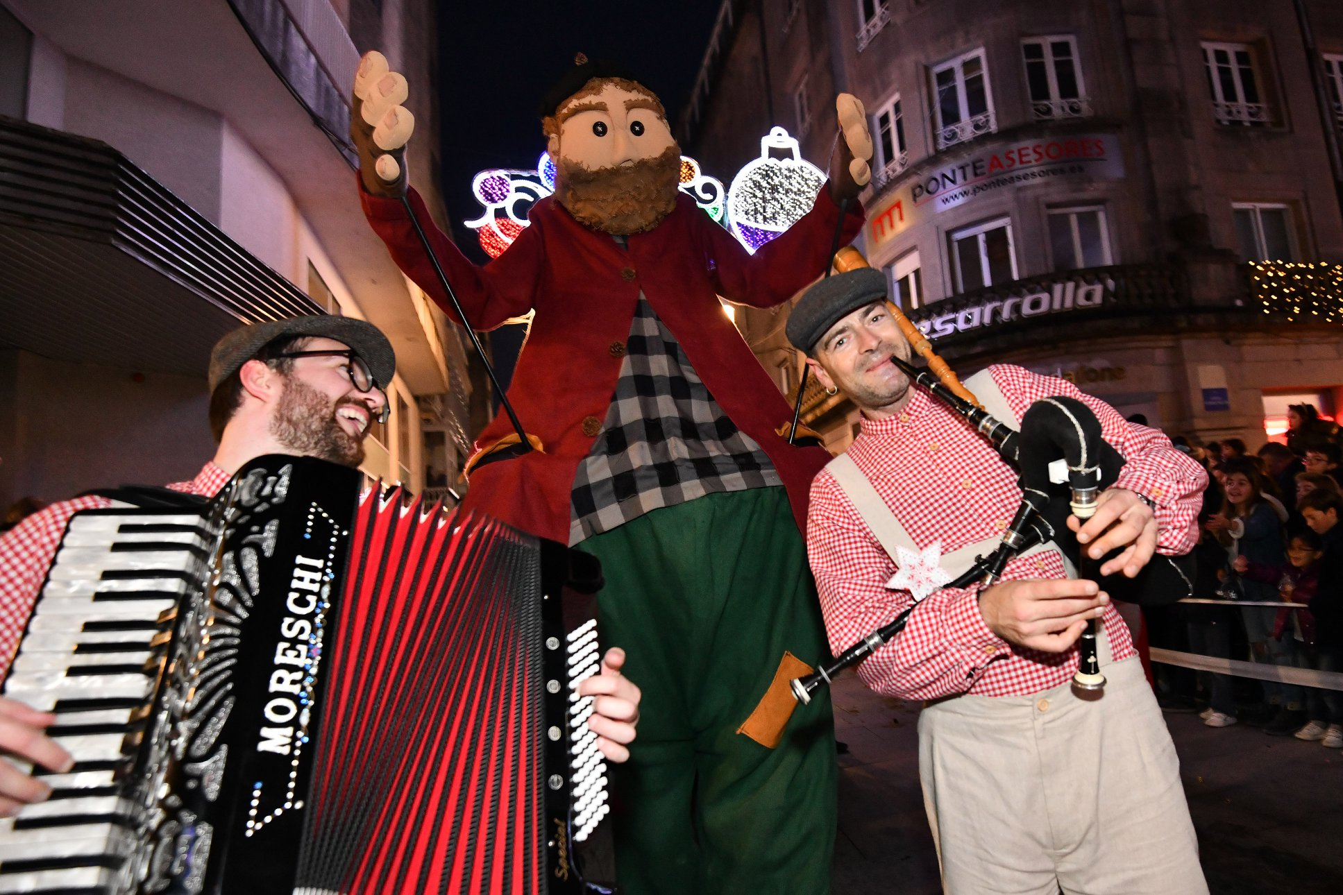 Os Reis Magos en Pontevedra