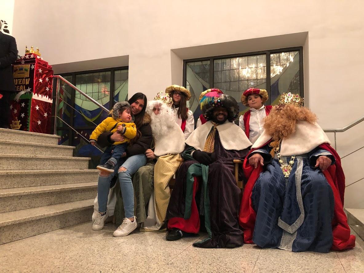 Os Reis Magos en Monforte