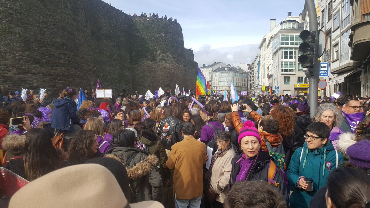 Manifestación 3M Lugo