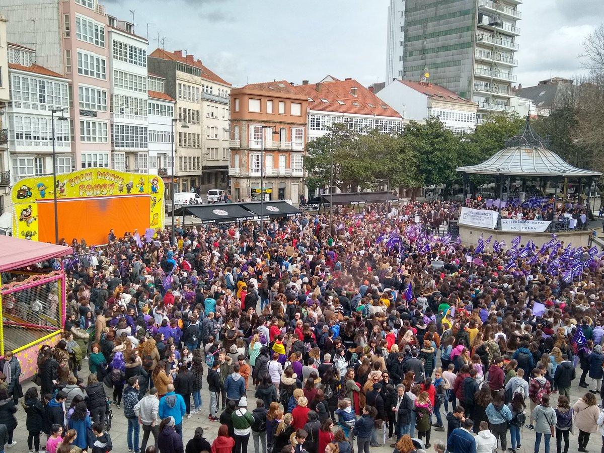 Concentracion en Ferrol - 8M de 2019