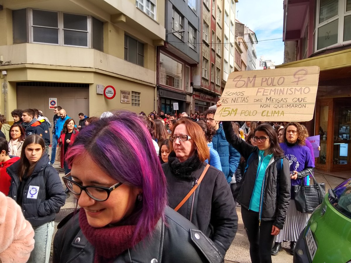 Concentración en Ferrol- 8M de 2019