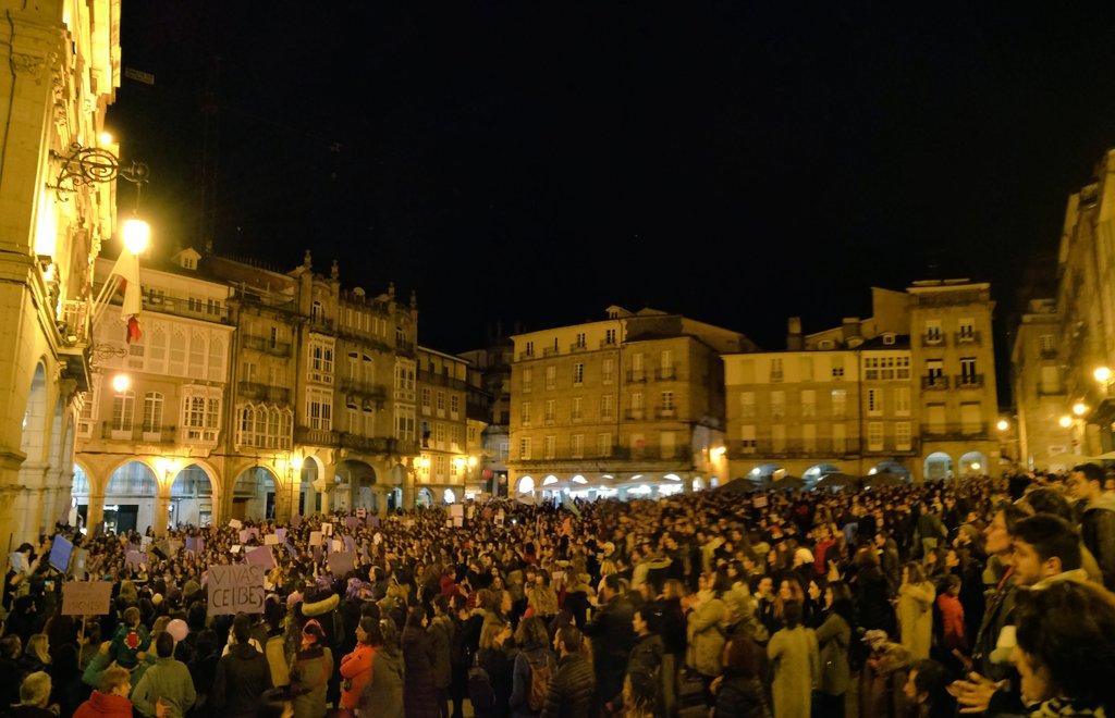 Manifestación en Ourense 8M 2019