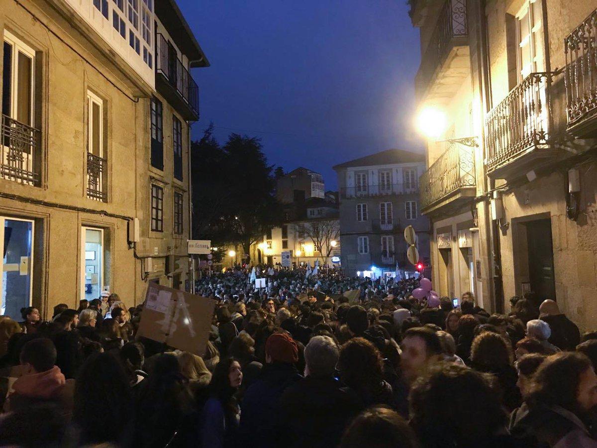 Manifestación en Compostela 8M 2019