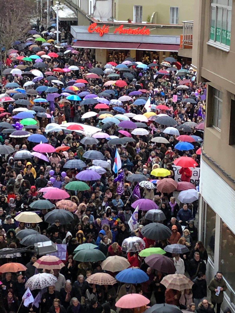 Manifestación en Ferrol 8M 2019