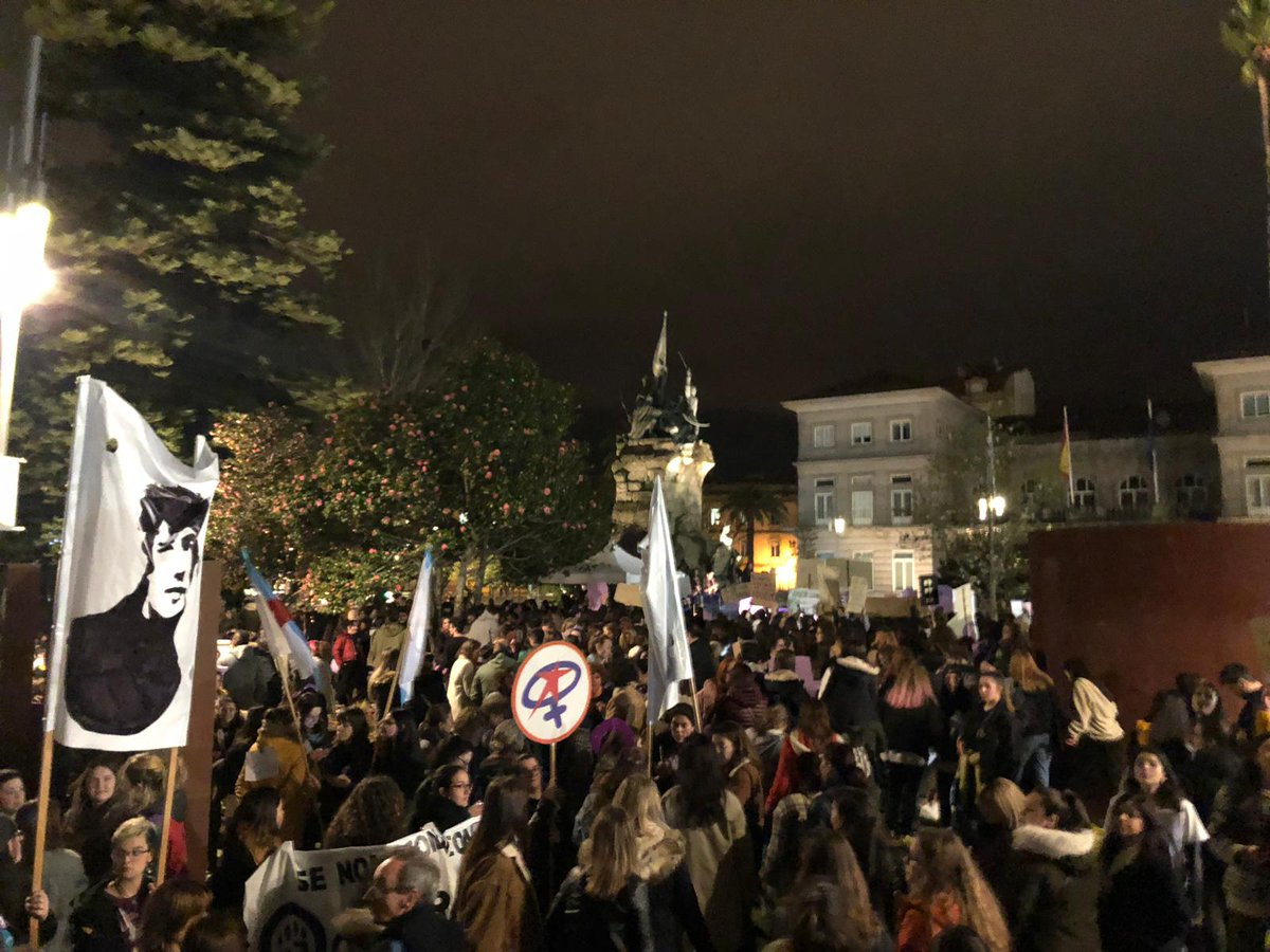 Manifestación en Pontevedra 8M 2019