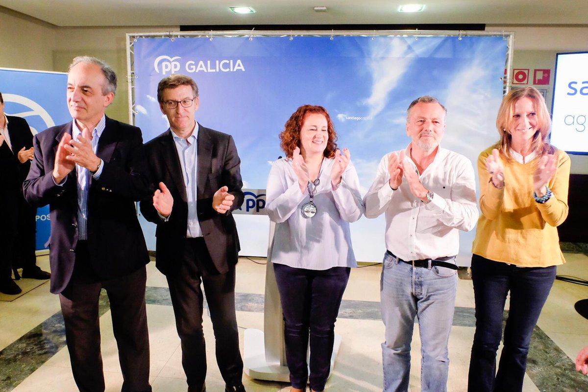 26M | Apertura da campaña do PP en Compostela