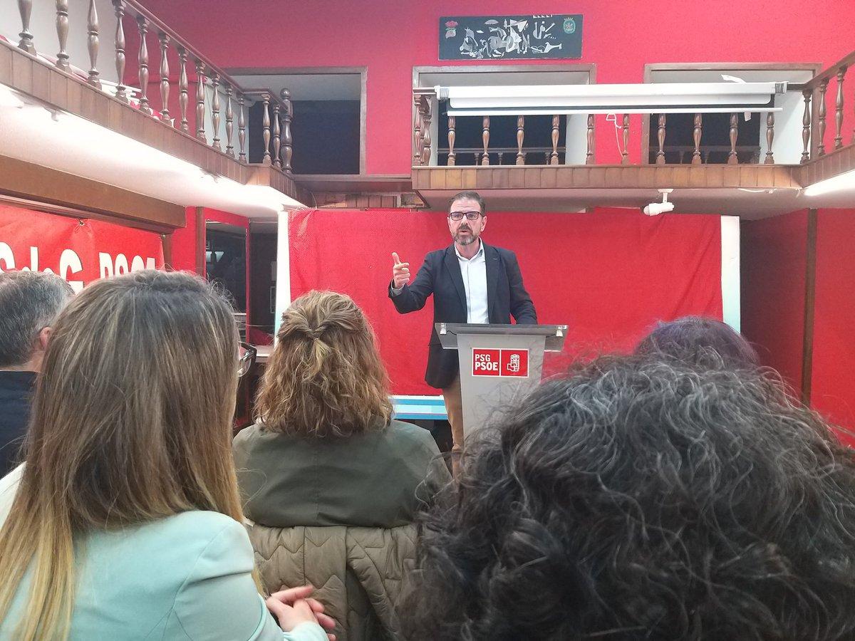 26M | Apertura da campaña do PSdeG en Ferrol
