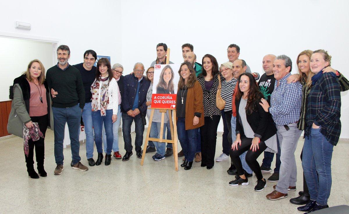 26M | Apertura da campaña do PSdeG-PSOE na Coruña
