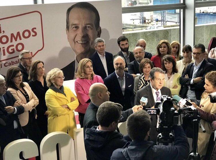 26M - Apertura da campaña do PSdeG en Vigo