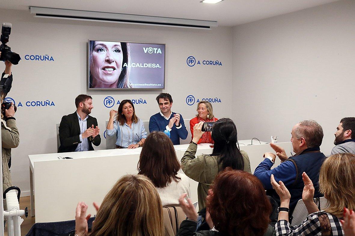 26M | Apertura da campaña do PP na Coruña