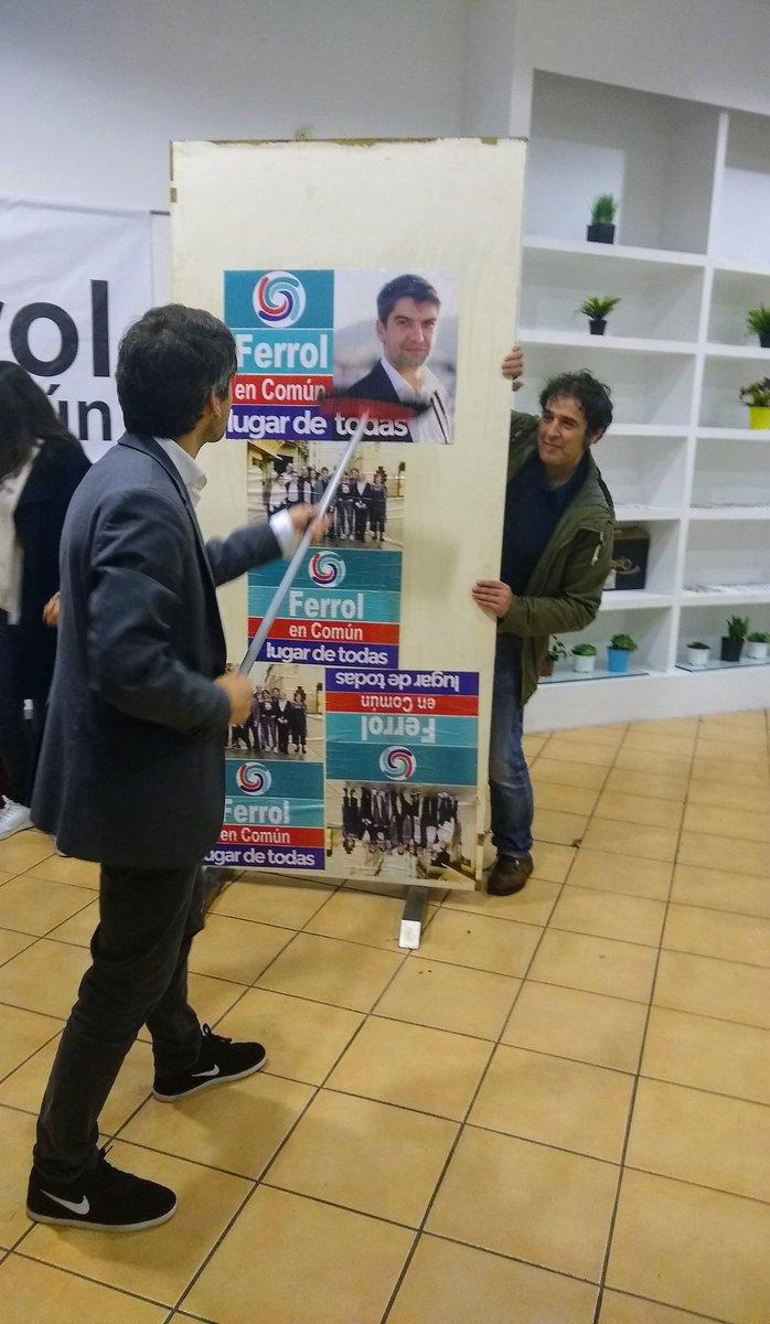 26M | Apertura da campaña de Ferrol en Común