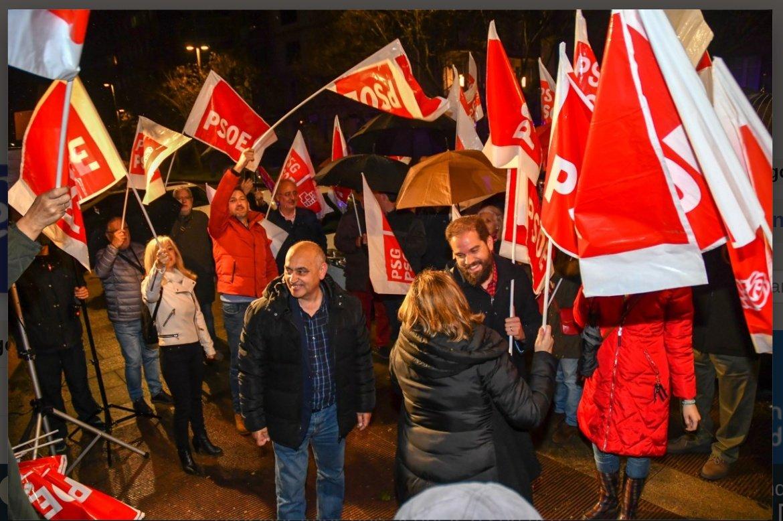 26M - Apertura da campaña do PSdeG en Pontevedra