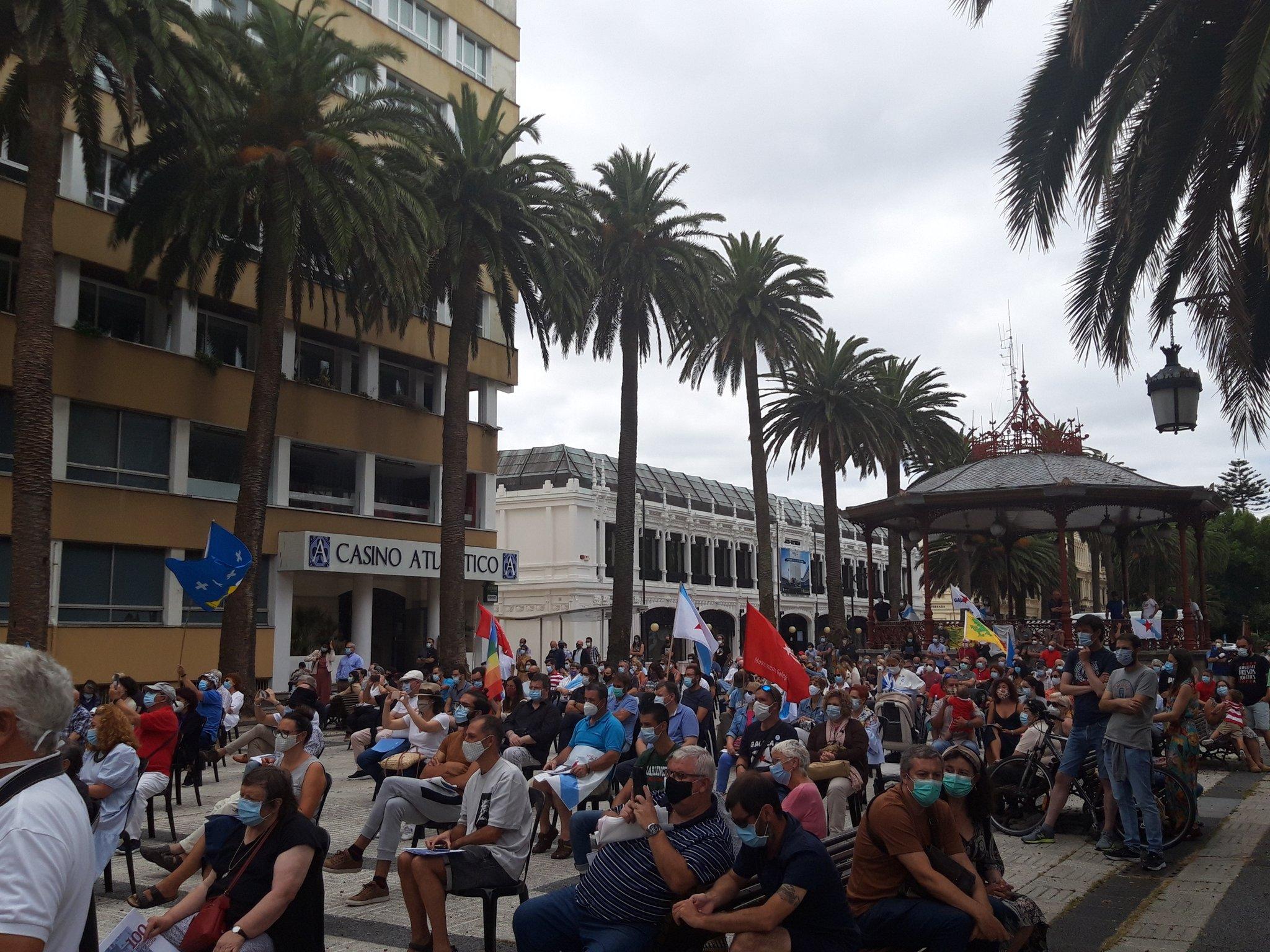 Acto do BNG na Coruña