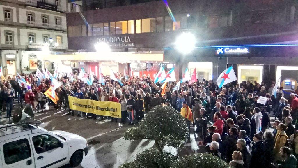 Mobilización de 'Galiza con Catalunya' en Vigo CC BY-NC-SA BNG