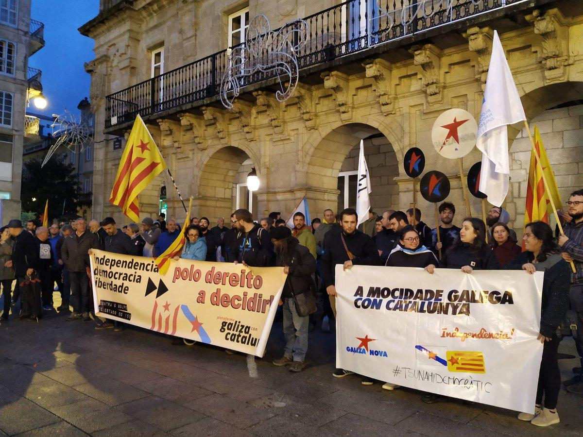 Mobilización de Galiza con Catalunya en Lugo - CC BY-NC-SA BNG Lugo