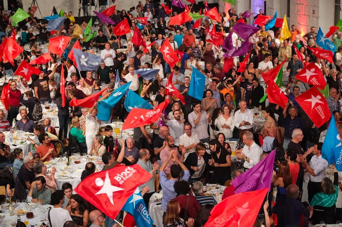 Acto electoral do Bloco no Porto