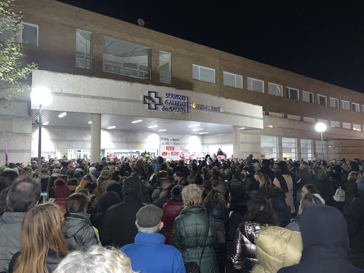 Concentración ante o hospital de Verín este 4 de decembro | Diego Lourenzo