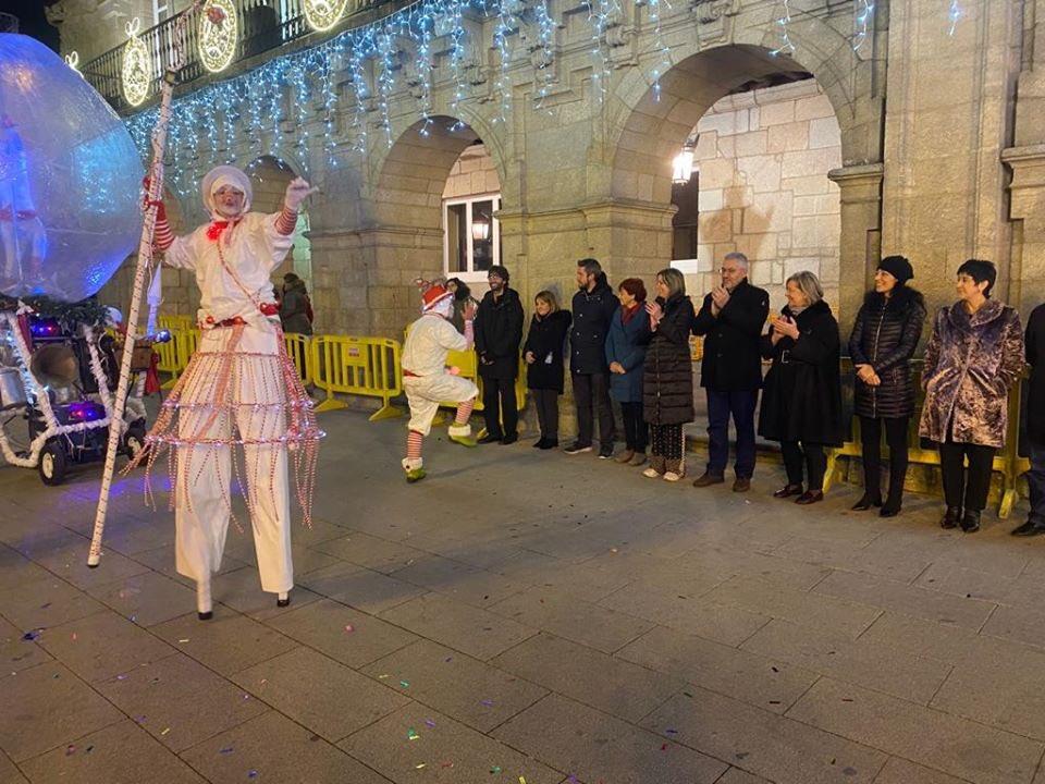 Os Reis Magos en Lugo