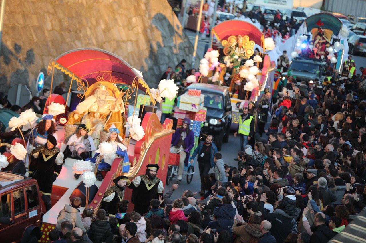 Os Reis Magos en Compostela