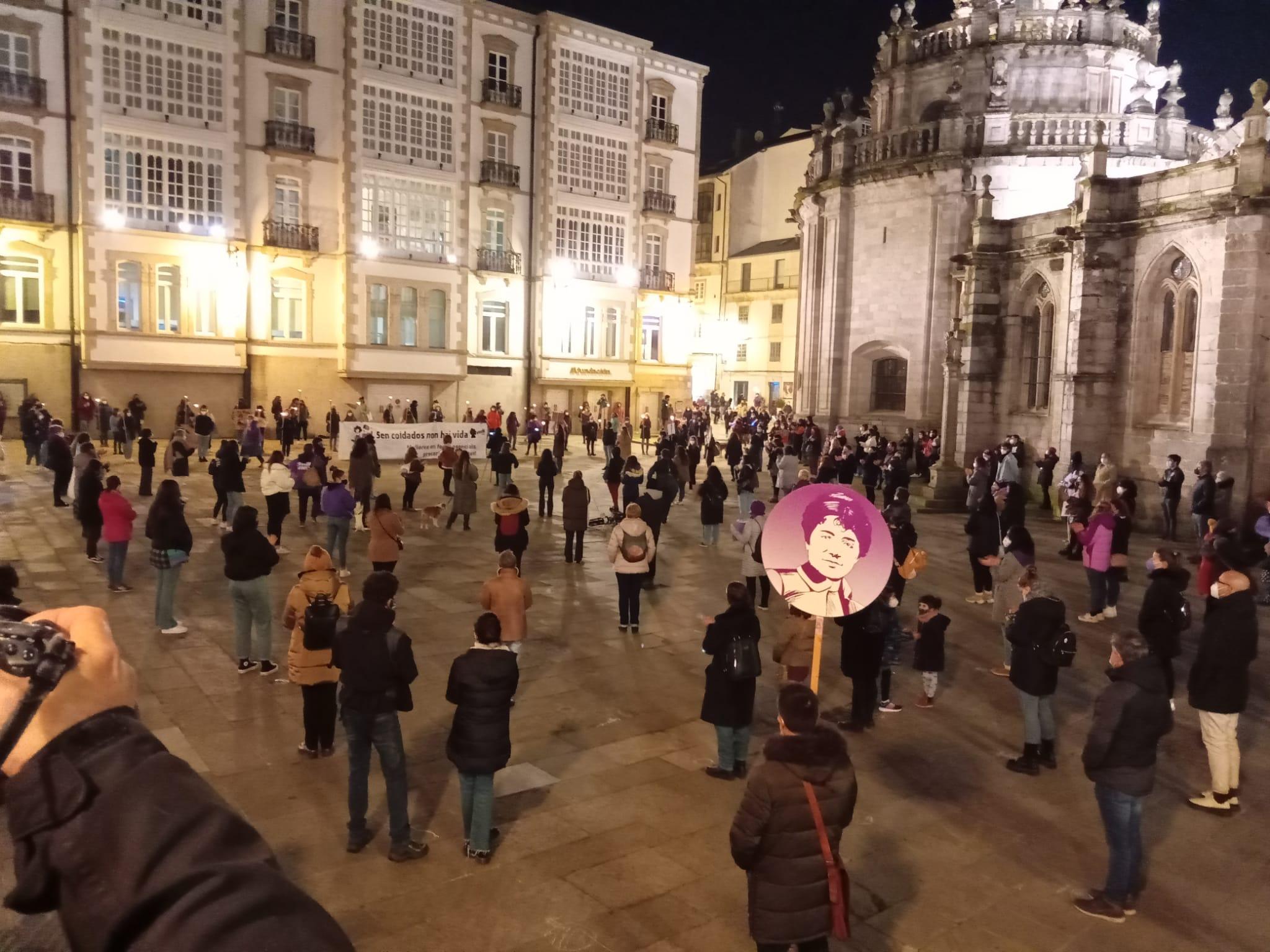 Manifestación en Lugo 8M 2021