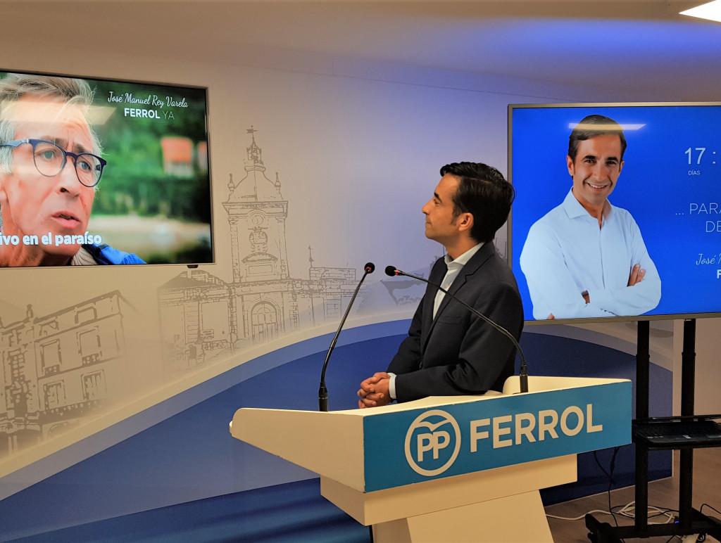 26M | Apertura da campaña do PP en Ferrol