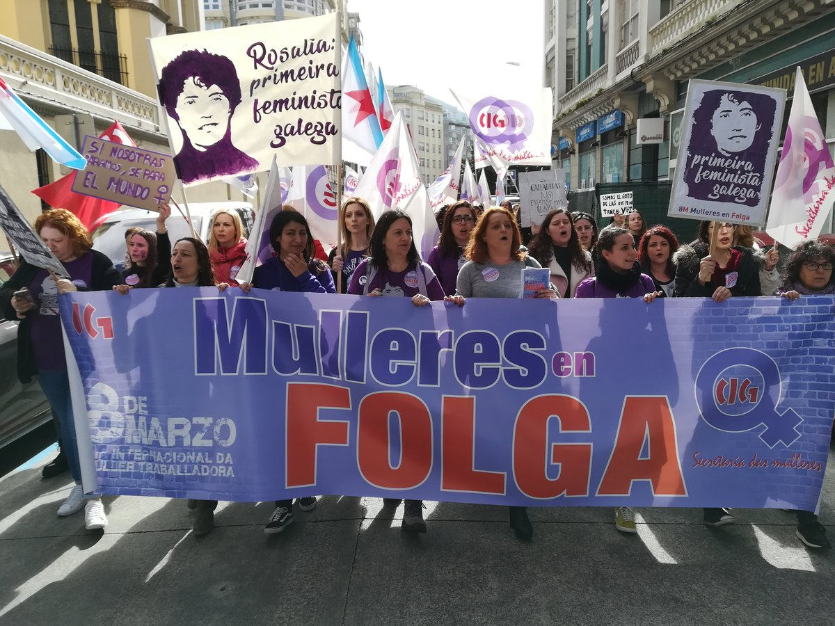 Concentración na Coruña - 8Mde 2019