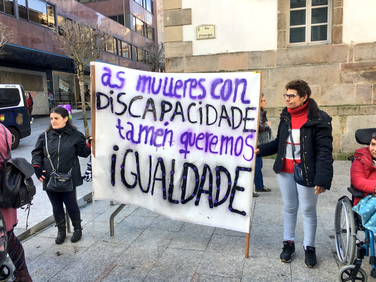 Concentración en Vigo- 8Mde 2019