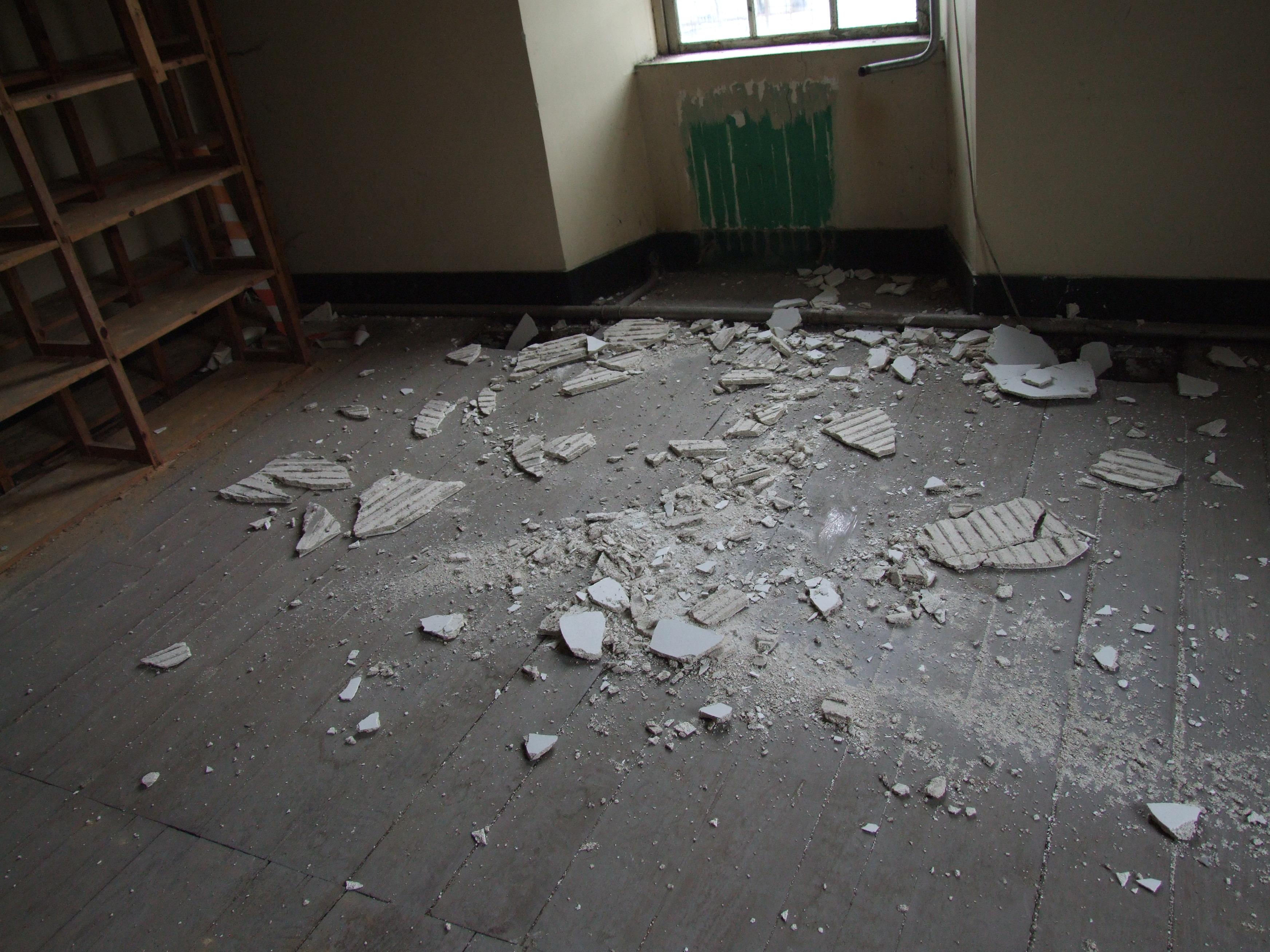 Desperfectos no interior do Cuartel de San Fernando | Concello de Lugo