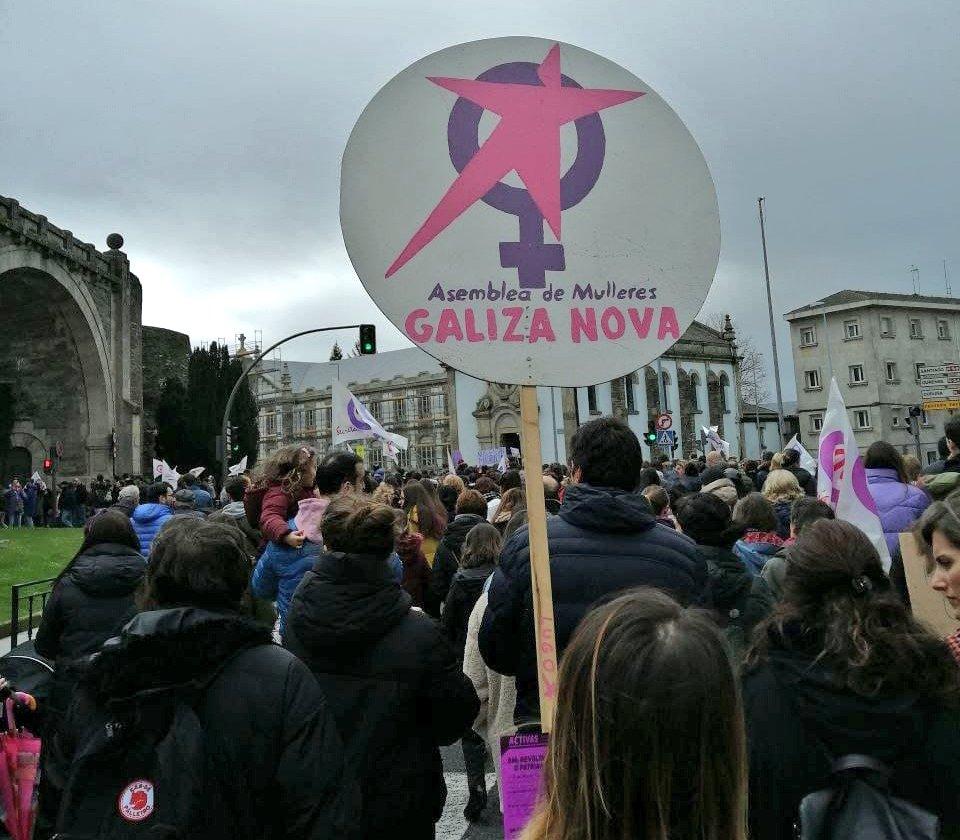 Manifestación do 8M en Lugo