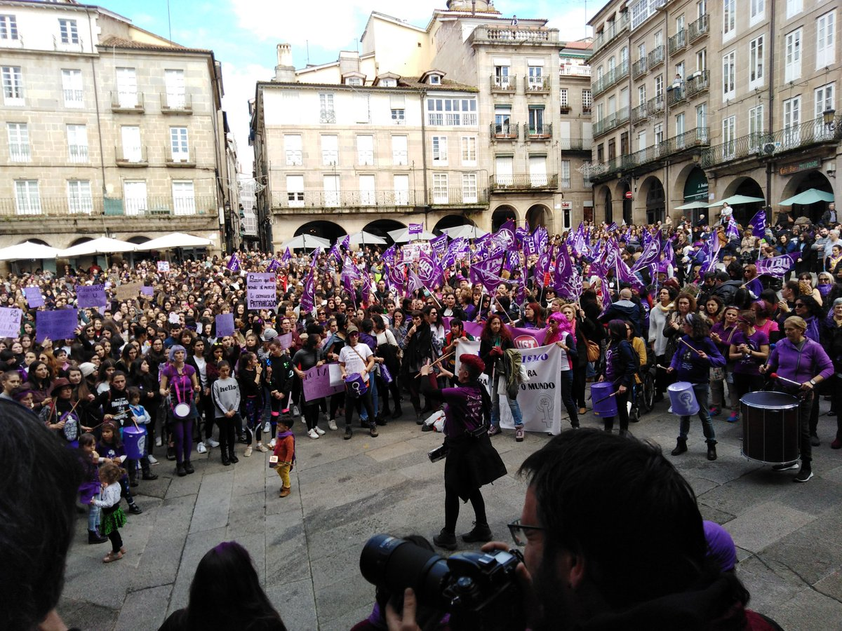 Concentración en Ourense - 8M de 2019