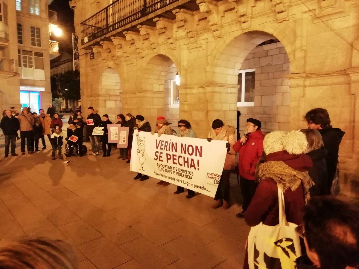 Concentración en Lugo contra o peche do paridoiro de Verín   BNG