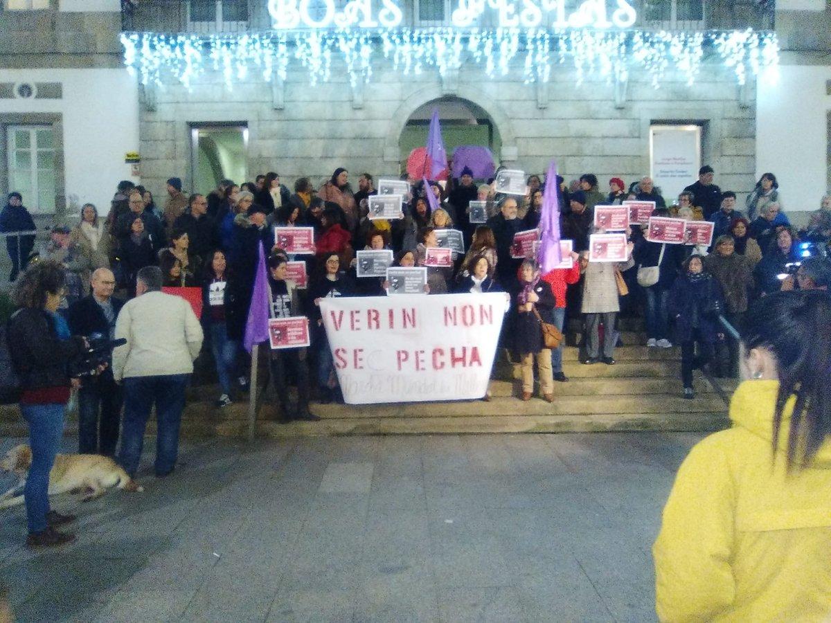 Concentración en Vigo contra o peche do paridoiro de Verín | MMM