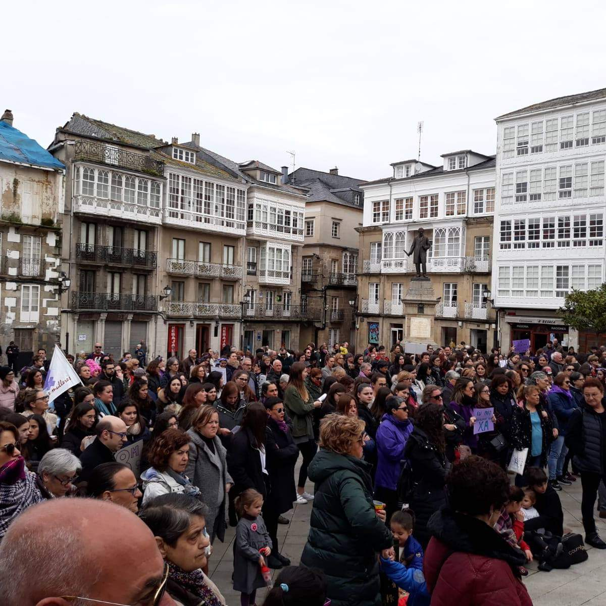 Concentración en Viveiro - 8M de 2019