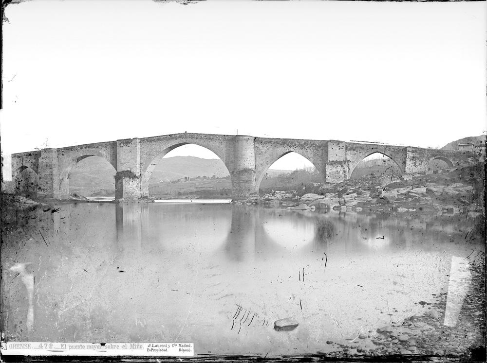 Ponte Vella de Ourense a finais do século XIX