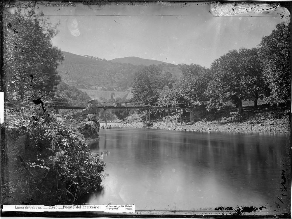 Ponte do Freixeiro a finais do século XIX