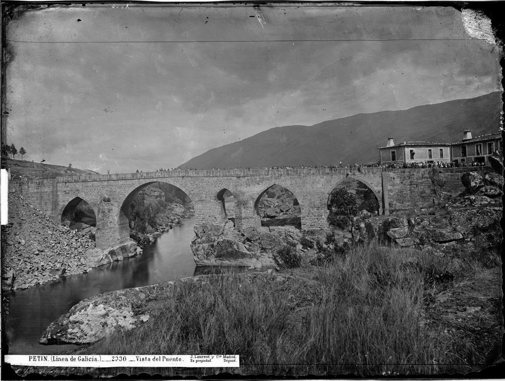Ponte de Petín a finais do século XIX