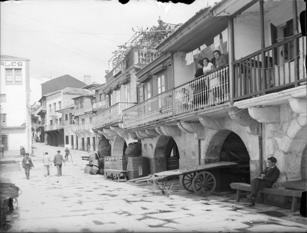 O Berbés de Vigo. Arquivo de Otto Wunderlich
