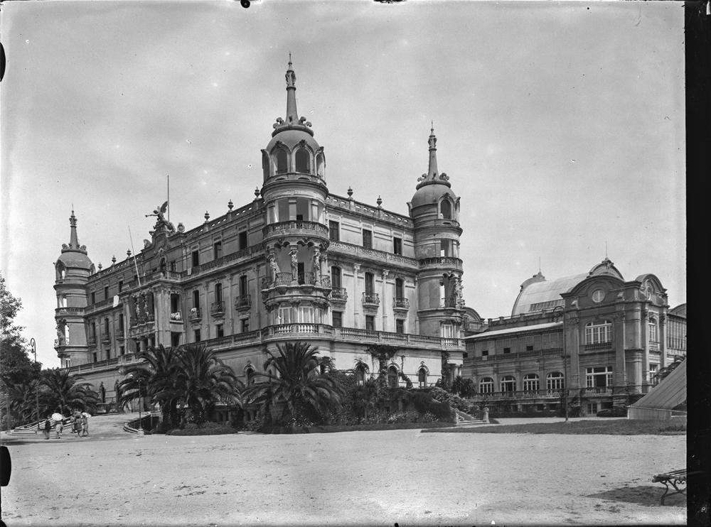 Hotel da Toxa. Arquivo de Otto Wunderlich