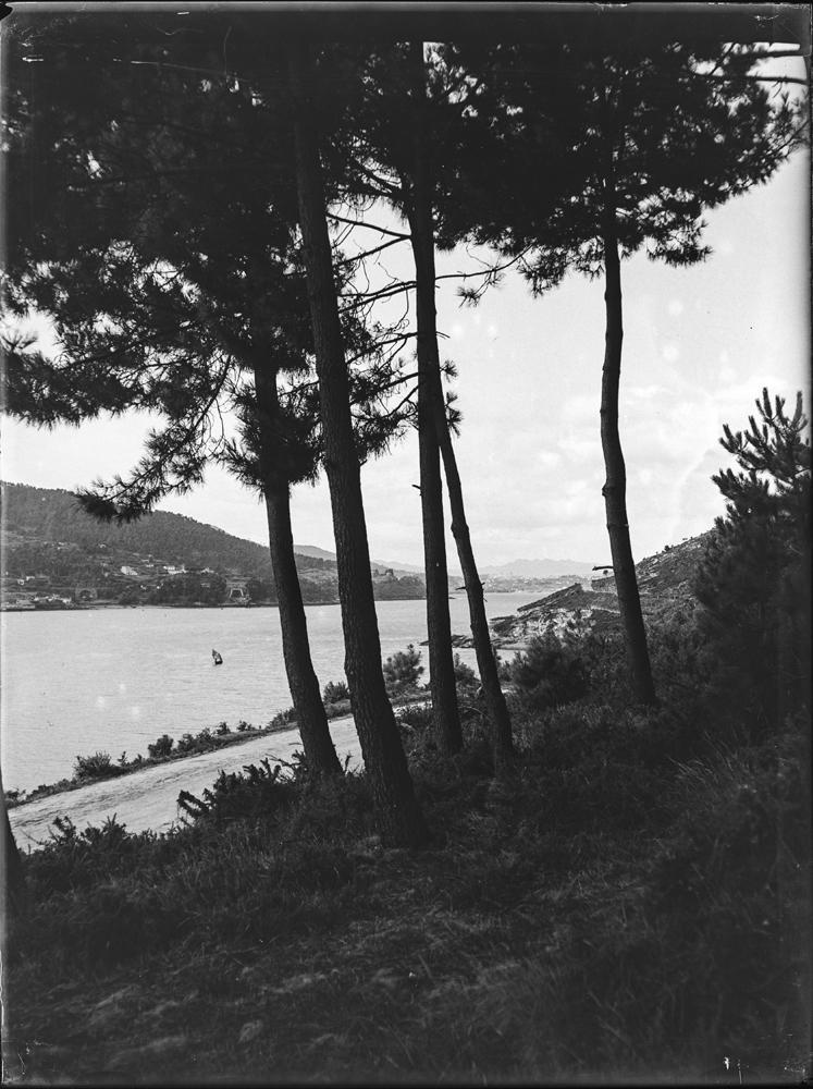 Vigo visto dende Domaio. Arquivo de Otto Wunderlich