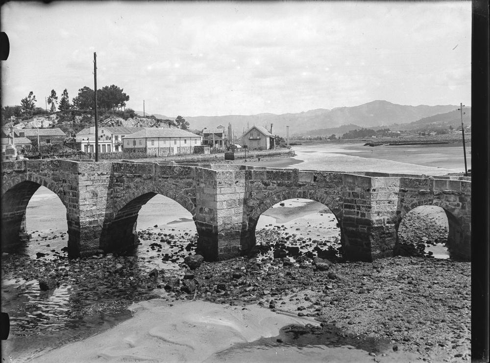 Ponte da Ramallosa. Arquivo de Otto Wunderlich
